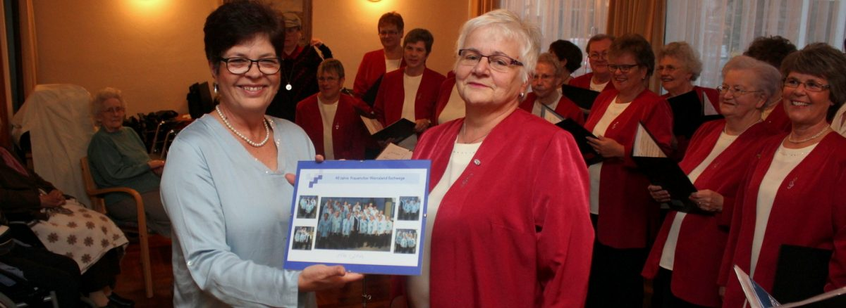 Frauenchor Werraland: Gastspiel im Jubiläumsjahr