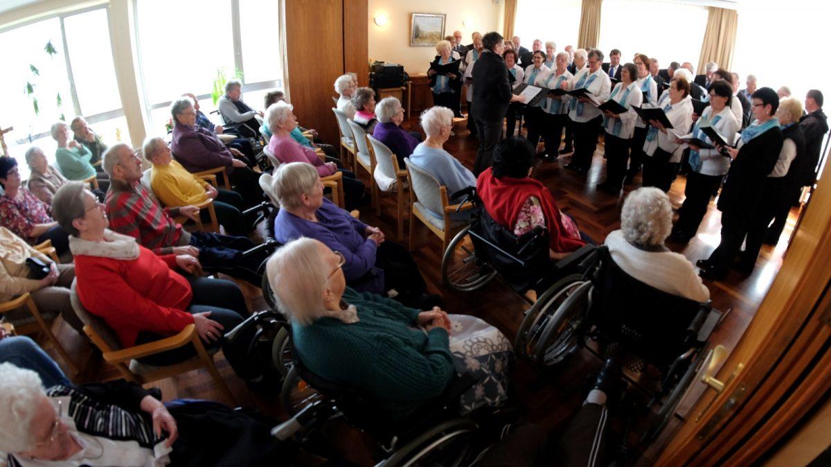 Liedertafel Niederhone gibt erstmalig Chorkonzert im Hospital