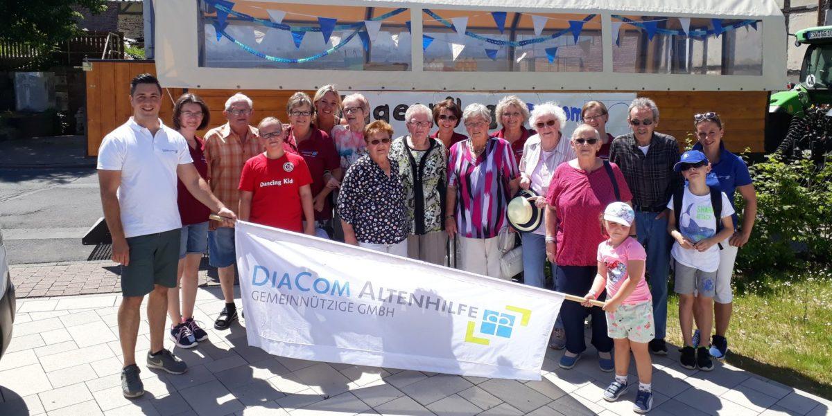 DiaCom Tagespflege feiert mit beim Heimatfest