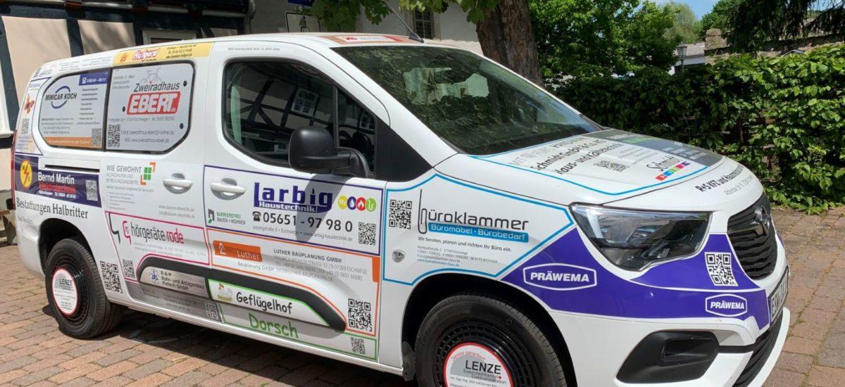 neuer OPEL Combo Kleinbus